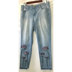 Vintage America Embroidered Jeans